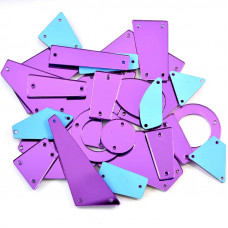 Пришивное зеркало Purple